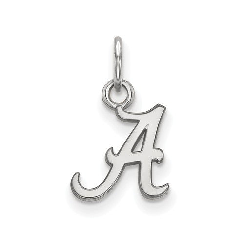 Sterling Silver LogoArt University of Alabama XS Pendant