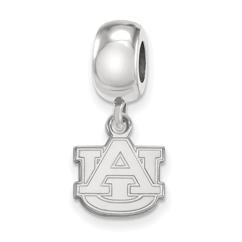 Sterling Silver LogoArt Auburn University XS Dangle Bead Charm