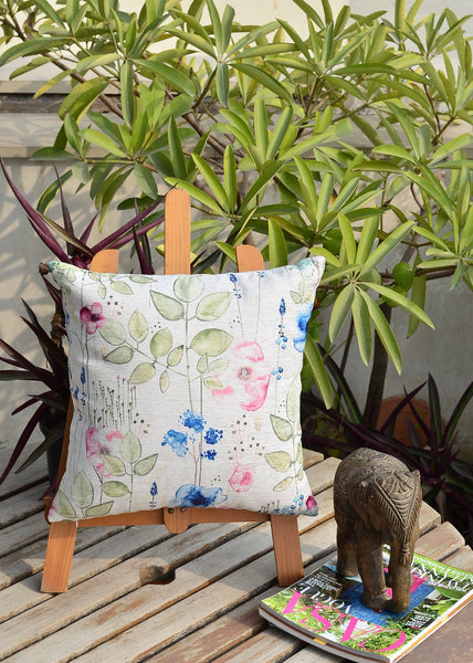 Floral Watercolor Cushion Cover