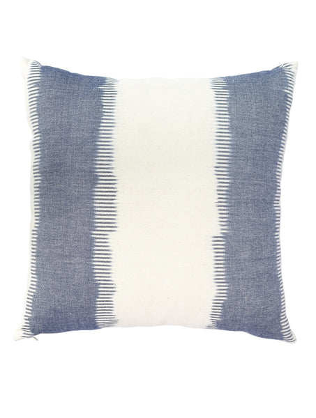 Hand Woven Ikat Grey Cushion Cover