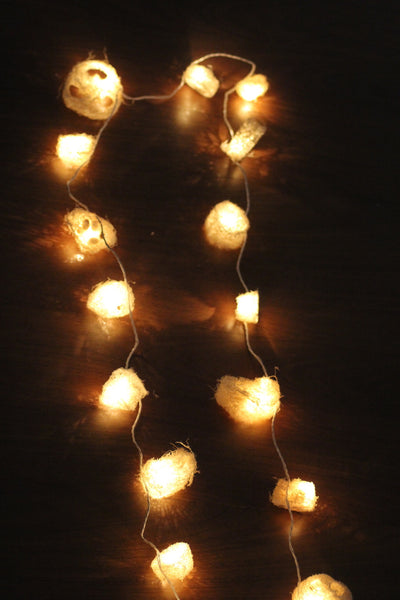 Handmade Luffa Vegetable Lights