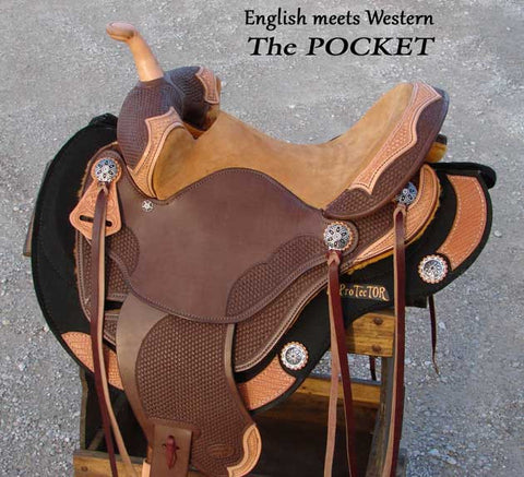Pocket Racer Barrel Saddle > Deposit to Schedule Saddle