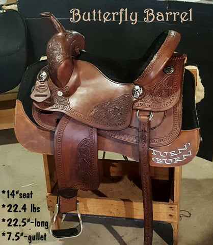 Butterfly Barrel Saddle