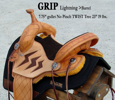 Grip Lighting Barrel Saddle