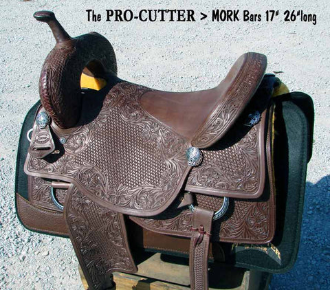 Pro Cutter™ with Mork Styled Bars > Deposit to Schedule Saddle