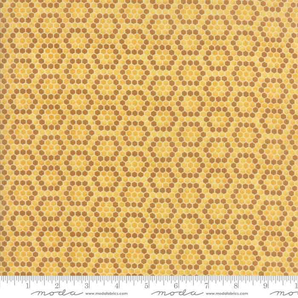 Gold Patchwork Fabric