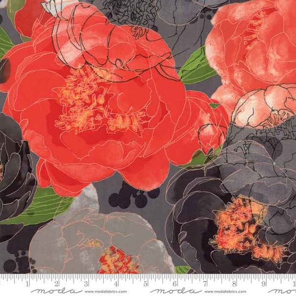 Moda Blushing Peonies designed by Robin Pickens