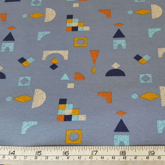 Jersey Fabric Fleece backed - The Fabric Bee