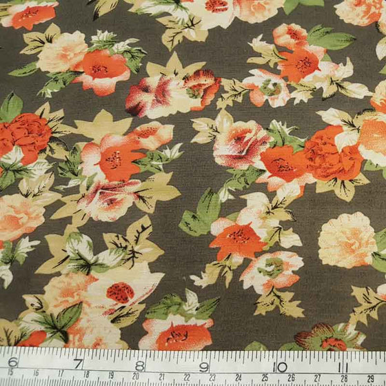 Polyester Floral Chiffon 2112/S40 - The Fabric Bee