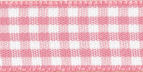 Gingham Ribbon Rose - The Fabric Bee