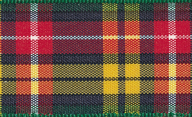 Tartan Ribbon Buchanan - The Fabric Bee