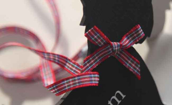 Tartan Ribbon Royal Stewart
