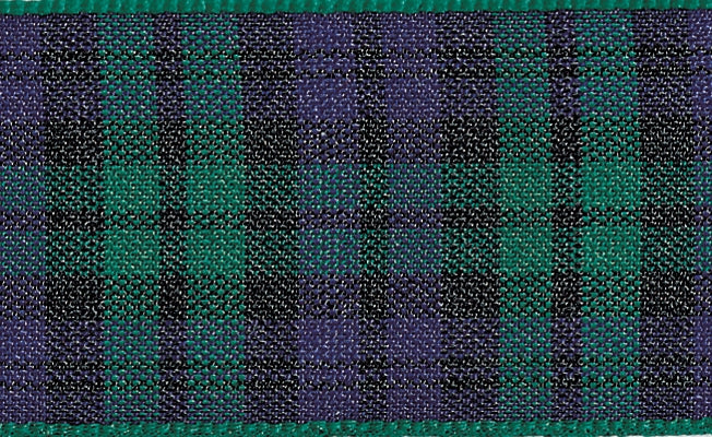 Tartan Ribbon Black Watch