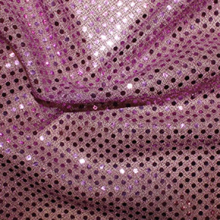 Sequin Knit Fabric Lilac C1778