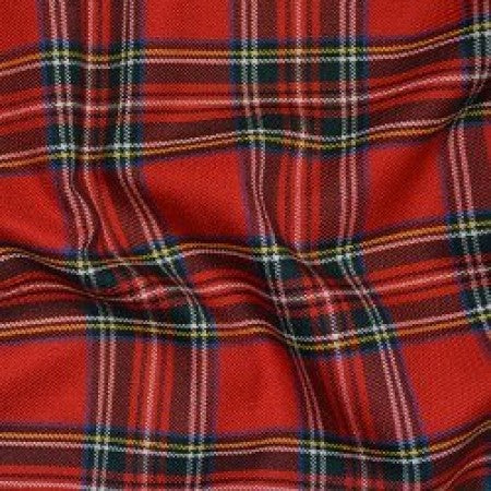 Tartan Red C3594 - The Fabric Bee