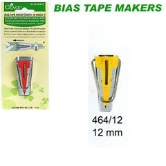 "Clover 12mm (1/2"") Bias Tape Maker - The Fabric Bee"