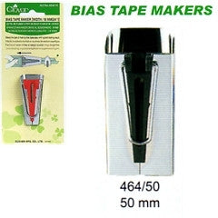 "Clover 50mm (2"") Bias Tape Maker - The Fabric Bee"