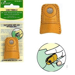 Leather Coin Thimble 6014