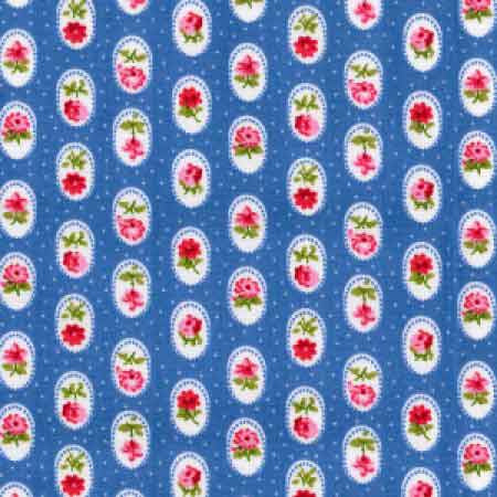 Cotton Poplin CP0296 Copen - The Fabric Bee