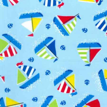 Cotton Poplin CP0425 Blue - The Fabric Bee