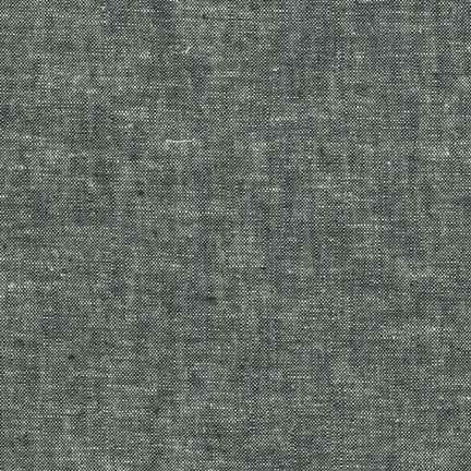 Essex Yarn Dyed Linen/Cotton Blend Black E064-1019 - The Fabric Bee