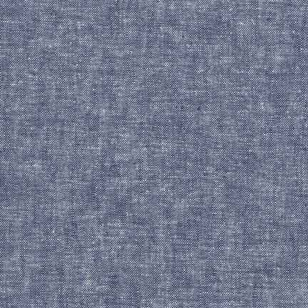 Essex Yarn Dyed Linen/Cotton Blend Denim E064-1452 - The Fabric Bee