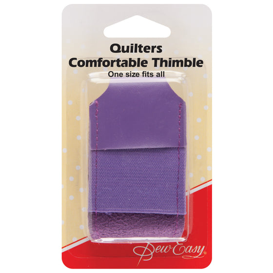 Quilter's Leather Thimble ER223 - The Fabric Bee