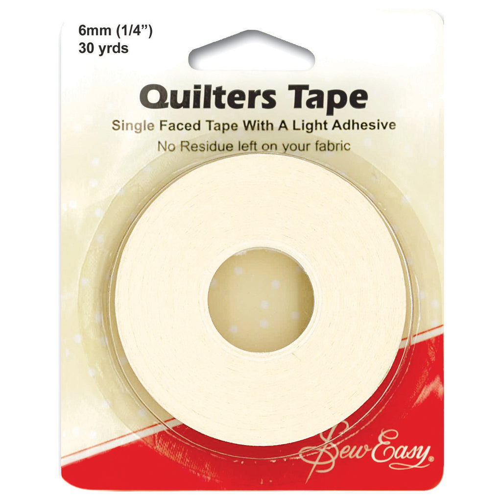 "Sew Easy Quilter's Tape 6mm x 27.5m (1/4"" x 30yds) ER394 - The Fabric Bee"