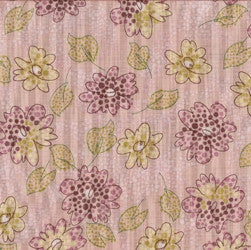 Pink Patchwork Fabric F484