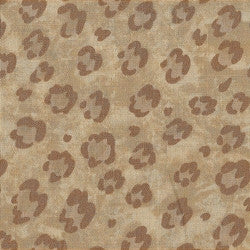 Tan Patchwork Fabric F632