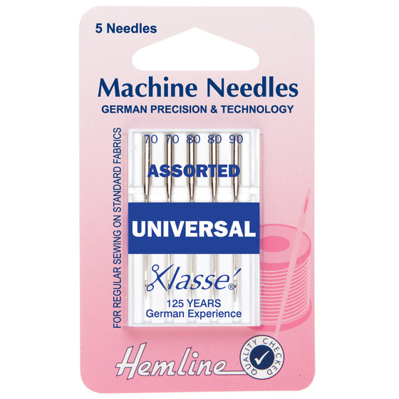 Klasse Sewing Machine Needles - Universal Assorted H100.99