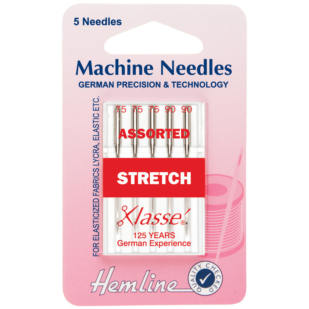 Klasse Sewing Machine Needles - Stretch Assorted H102.99