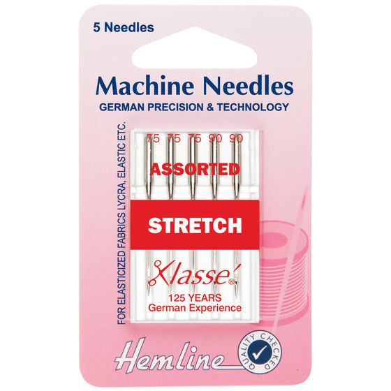 Klasse Sewing Machine Needles - Stretch Assorted H102.99 - The Fabric Bee
