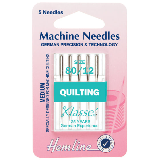 Klasse Sewing Machine Needles - Quilting H106.80 - The Fabric Bee