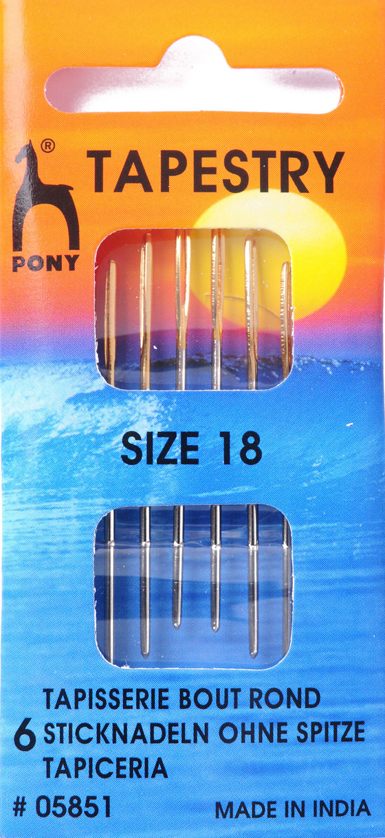 Pony Hand Sewing Needles Tapesry size 18 P05851