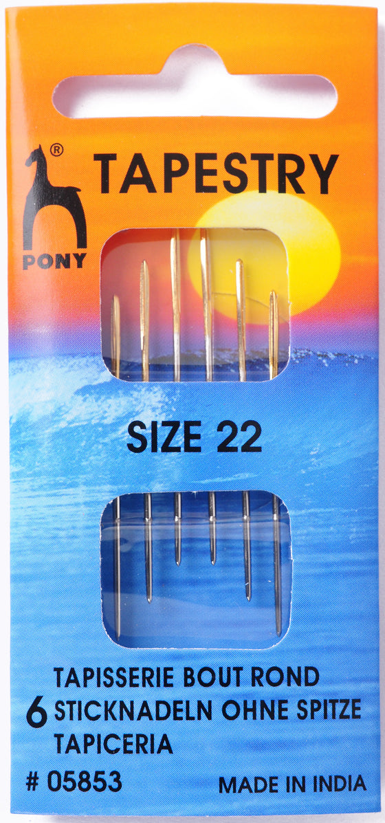 Pony Hand Sewing Needles Tapesry size 22 P05853