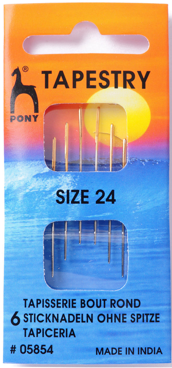 Pony Hand Sewing Needles Tapesry size 24 P05854