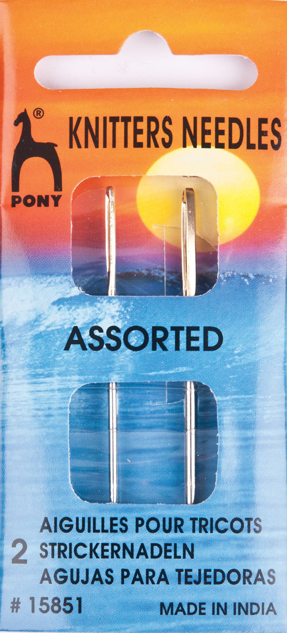 Pony Hand Sewing Needles Knitters P15851 - The Fabric Bee
