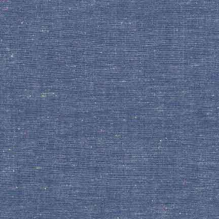Robert Kaufman Neon Neppy Cotton Chambray Royal Blue SRK-17237-11