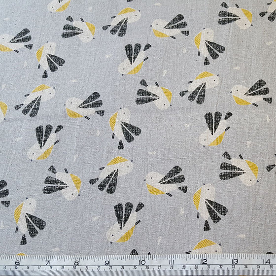Dashwood Nest Cotton/Linen Canvas - The Fabric Bee