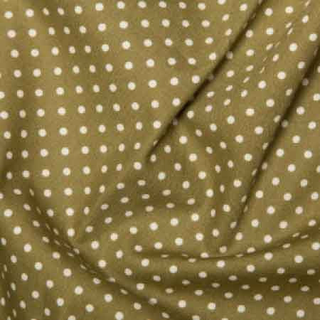 Cotton Poplin CP0009 3mm Moss Spot - The Fabric Bee