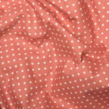 Cotton Poplin CP0009 3mm Pink Spot