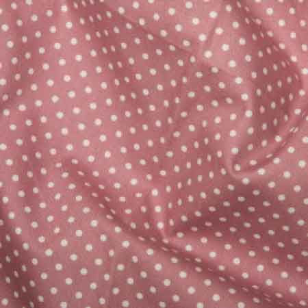 Cotton Poplin CP0009 3mm Rose Spot - The Fabric Bee
