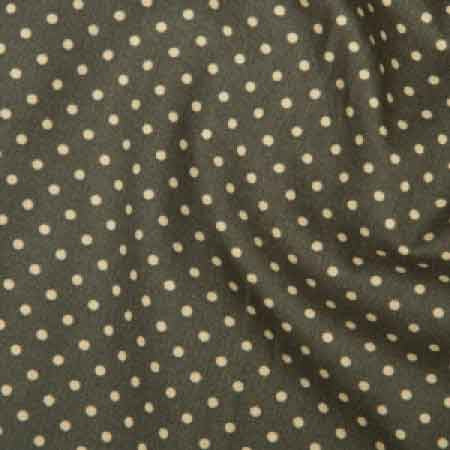 Cotton Poplin CP0009 3mm Slate Spot - The Fabric Bee