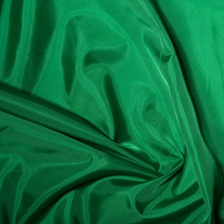 Anti-Static Polyester Dress Lining - Emerald Green - The Fabric Bee