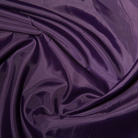 Anti-Static Polyester Dress Lining - Purple - The Fabric Bee