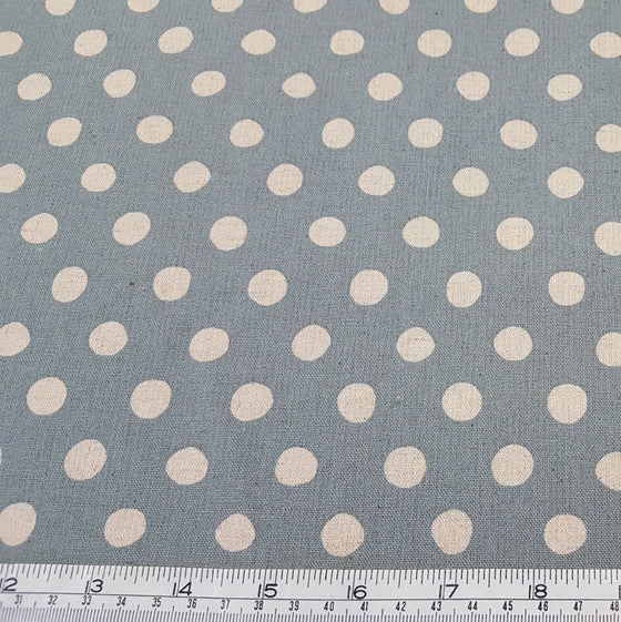 linen/cotton blend fabric, Sevenberry linen/cotton spots