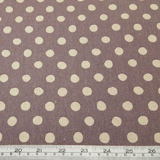 Sevenberry linen/cotton blend spots