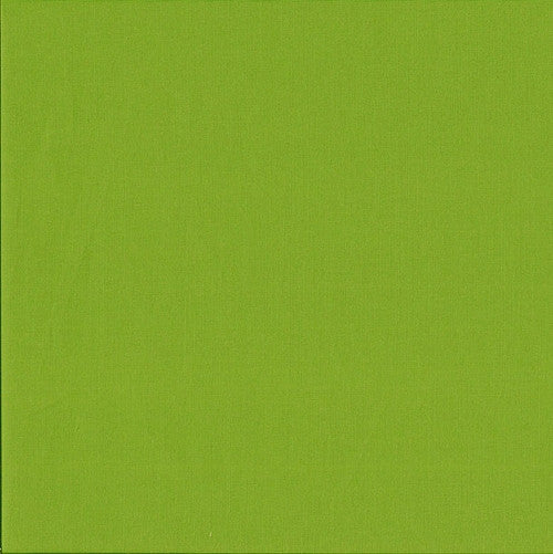Makower Spectrum Plain Fabric Pistachio G66 F4013