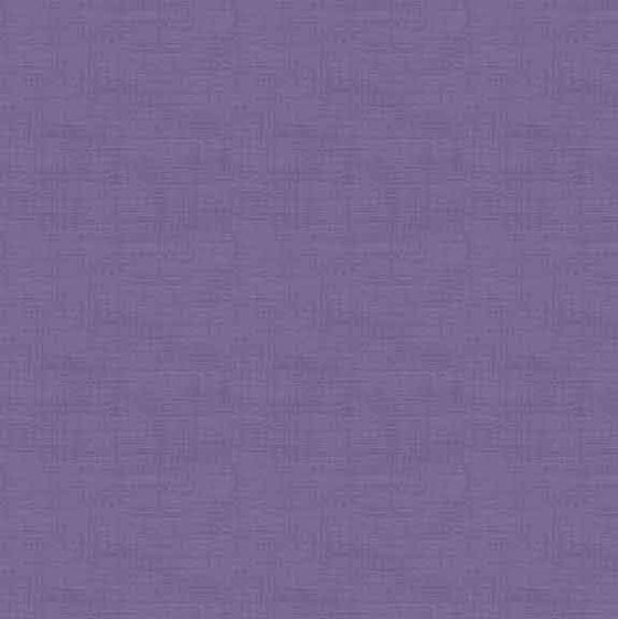 Makower Linen Texture Violet 1473/L6 F5640 - The Fabric Bee